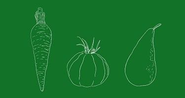 Légumes fruits agriculture raisonnée manosque