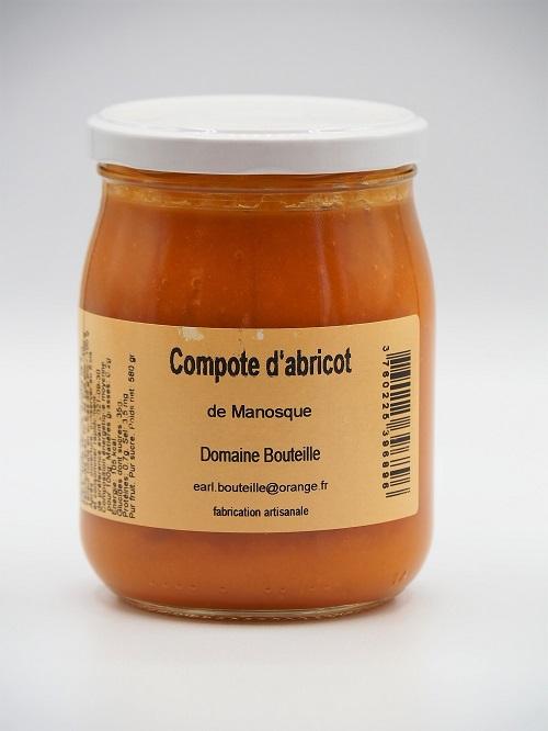 Compote Abricot - Au fil des Saveurs Manosque