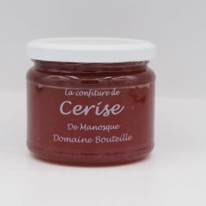 Confiture de cerise - Au fil des saveurs producteurs fruits légumes Manosque