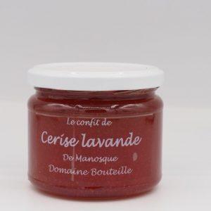 Confiture de cerise lavande - Au fil des saveurs producteurs fruits légumes Manosque