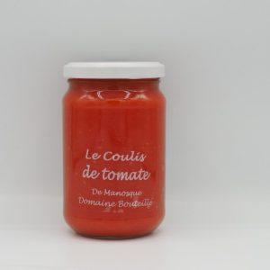 Coulis de tomate - Au fil des saveurs producteurs fruits légumes Manosque